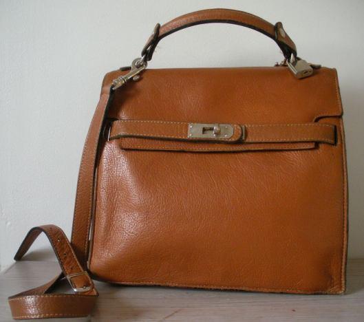 Mini sac style Kelly d'Hermès, marque IMA
