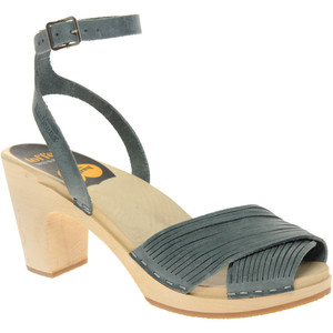 Sandale Swedish Hasbeens Strappy-grey-SS 2011