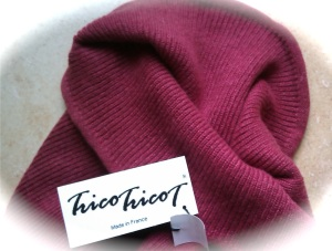 snood rouge tricotricot1
