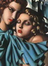 Tamara de Lempicka - Two girls