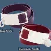 Bracelet Marc Deloche Jungle médaille