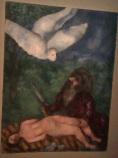 Chagall-Abraham prêt à immoler son fils 1931