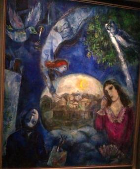 Chagall-Autour d elle 1945