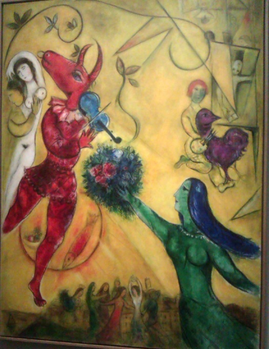 Chagall-La Danse-1950-52