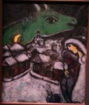 Chagall-La nuit verte 1952