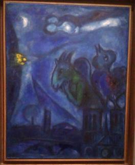 Chagall-Le monstre de notre dame 1953