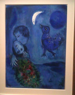 Chagall-Le paysage bleu 1949
