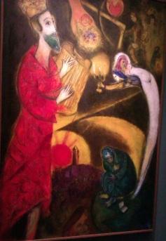 Chagall-Le roi david 1951