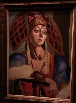 Portrait de Danseuse russe - Tamara de Lempicka, 1923-24