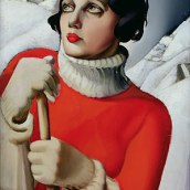Saint-Moritz - Tamara de Lempicka, 1929