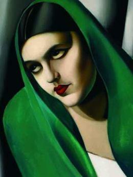 Le Voile vert - Tamara de Lempicka, 1924
