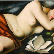 Nu couché aux livres - Tamara de Lempicka, 1927