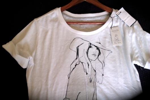 T-shirt Bio Garance Doré pour Marc O'Polo / photo Jicky@Destylesenaiguilles