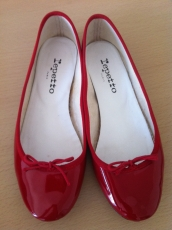 2-Ballerines rouges Repetto