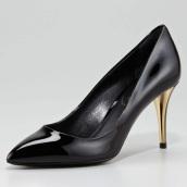1-Escarpins noir YSL