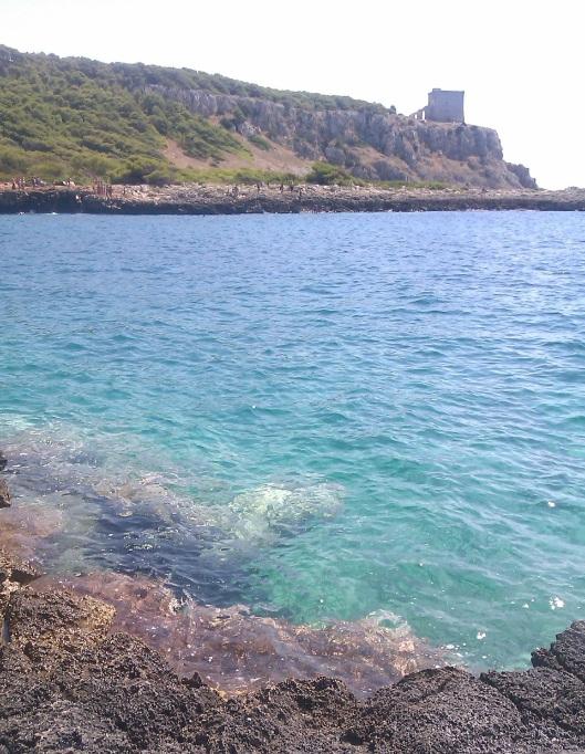 la mer ionienne à Porto Selvaggio1