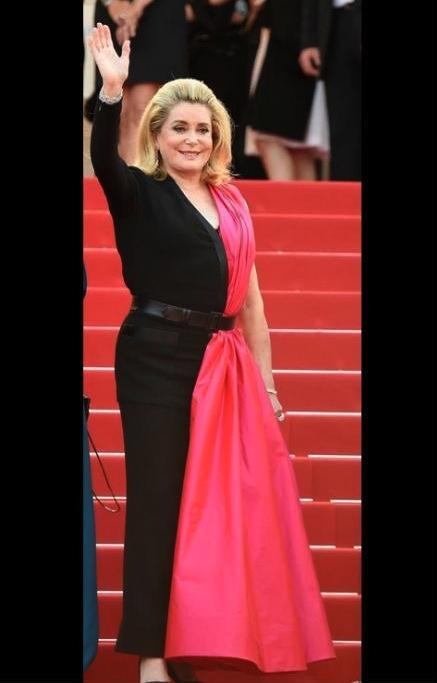Catherine deneuve cannes 2015