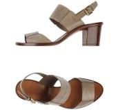 Sandales SANTONI beige taupe