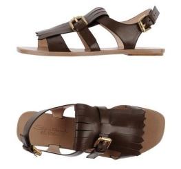 Sandales SANTONI plates