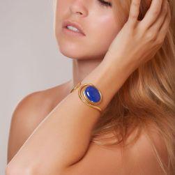 Bracelet Lapis Lazuli Ludovic Goupil bijoux d'art